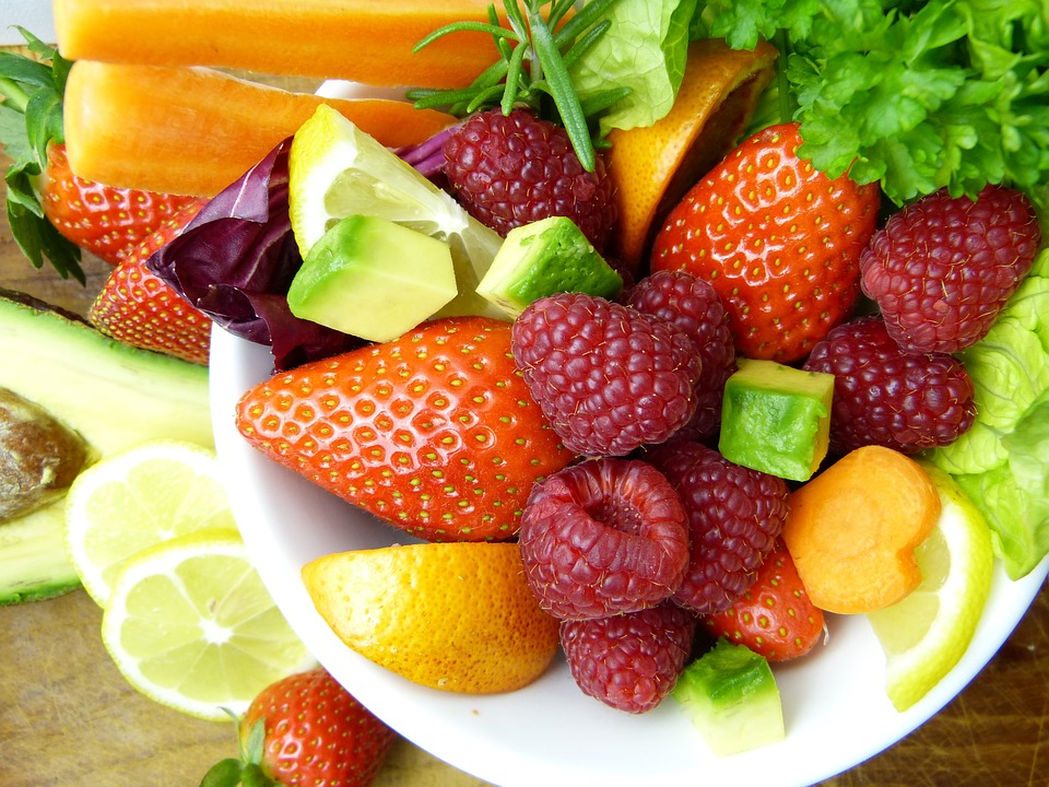 Anti-inflammatory fruits and vegetables