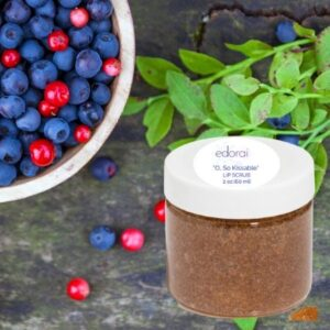 Edorai Lip Scrub Cranberry and Blueberry