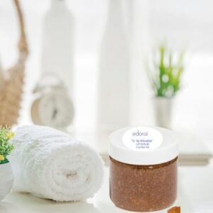 Edorai Lip Scrub with Towel and Clock