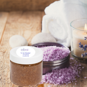 Edorai Lip Scrub with Bath Salts